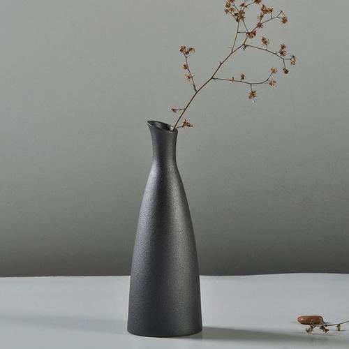 Jumia Kenya & Ceramic Flower Vase Porcelain Black Home Office Modern Decor Art Crafts Vase