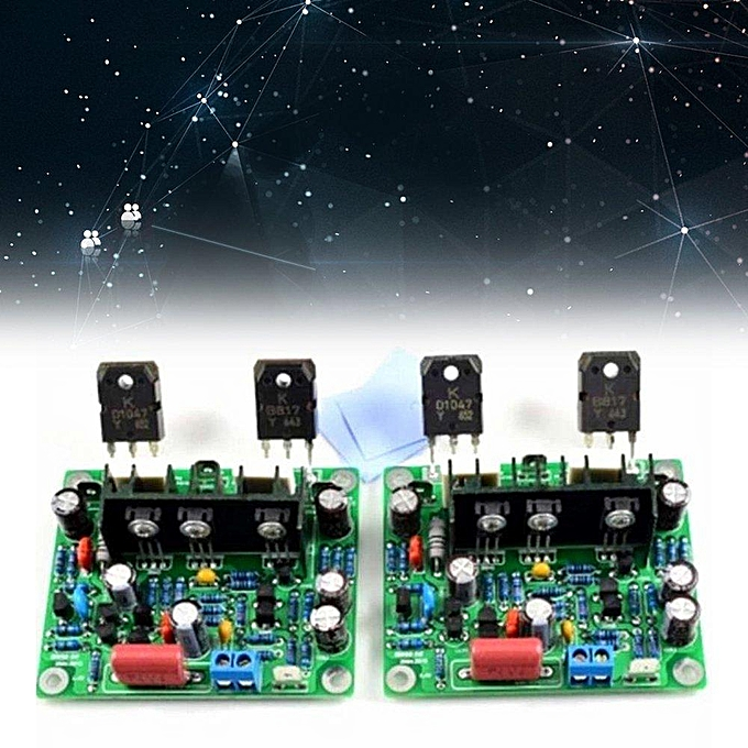 2pcs HiFi MX50 se 2 0 dual channel 2x100W Stereo Power Practical amplifier  KIT