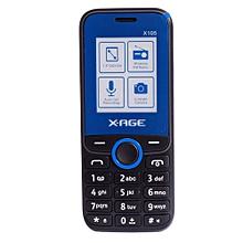 105X- (Dual SIM), Black/Blue