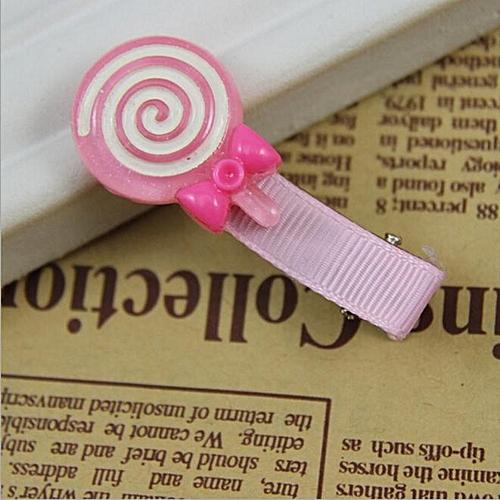 Fovibery Fashion Cute Lollipop Hair Clips Baby Hairpins Children Accessories