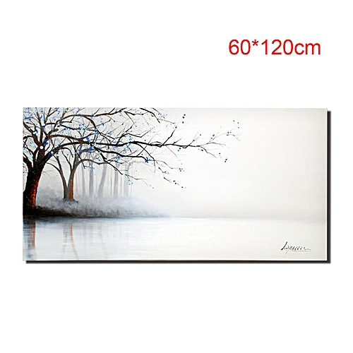 Buy Generic Large Landscape Painting on Canvas Wall Art Set Frame ...