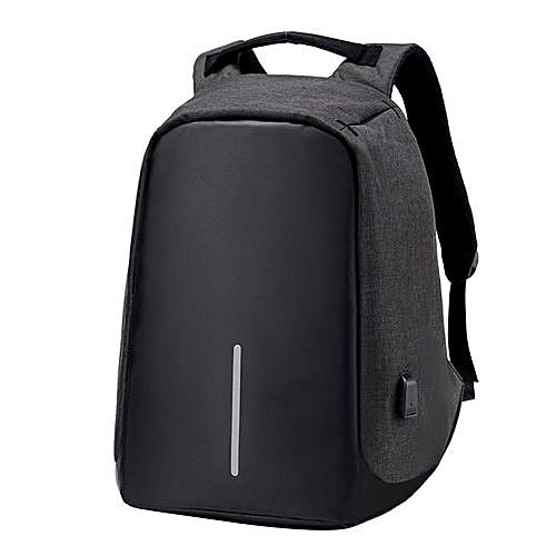Generic UJ Large Capacity Waterproof Backpack Anti-theft Travel School Bags  With USB Port-Black   Best Price   Jumia Kenya 5425818b57