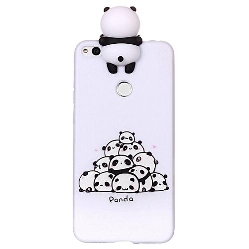 online retailer c234b f7c05 Huawei P8 Lite (2017) Phone Case, Soft Silicone Slim Flexible 3D Cartoon  Animal Super Cute TPU Painted Pattern Case Cover for Huawei P8 Lite  (2017)/P9 ...