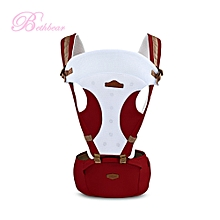 Multifunction Carrier Baby Hip Seat Waist Stool - Red