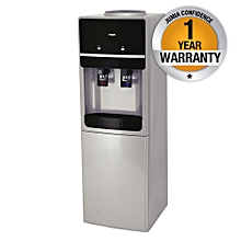 MWD2404/SBL - Water Dispenser, Free Standing, Hot & Cold - Silver & Black