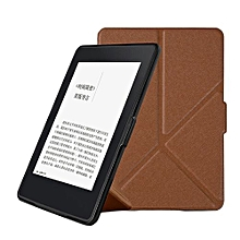 Slim Leather Case Smart Cover For Amazon Kindle Paperwhite  2016 Sleep-Wake BW