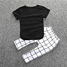 Refined Fashion Bursting Pure Cotton Baby Suit Square Pants / Short Sleeved T-shirts Baby Lovely Clothes