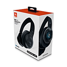 E65BTNC – Wireless over-ear Noise Cancelling Headphones – Black