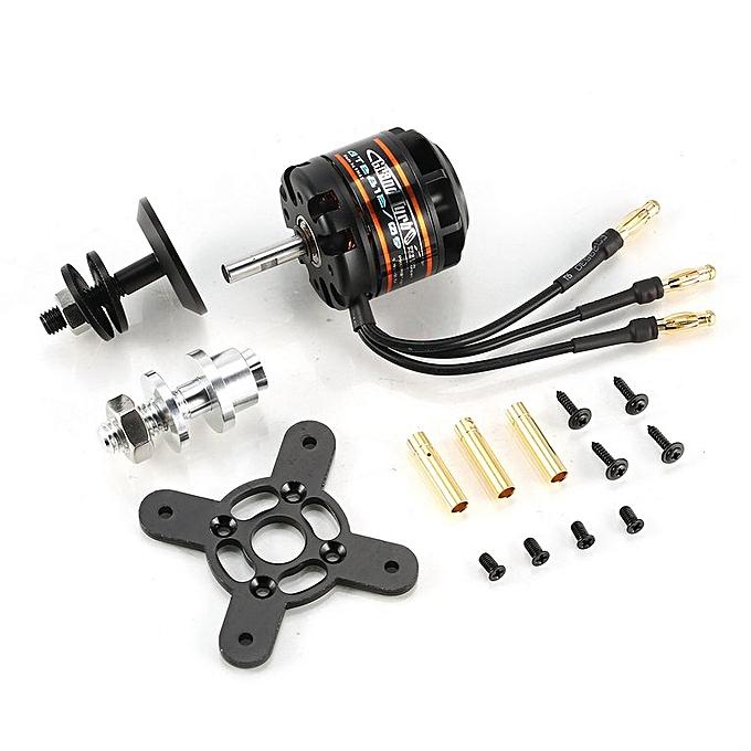 Emax GT2812 1060KV 2-3S Lightweight Power Brushless Motor for RC Fixed Wing  Black