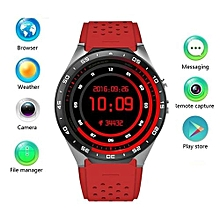 KW88 3G Smart watch, Android 5.1 OS, Quad Core support 2.0MP Camera Bluetooth SIM Card WiFi GPS Heart Rate Monitor