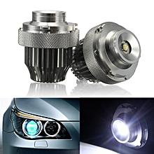 LED 20W Angel Eyes Halo Ring Light Bulb For BMW 5-Series E60 E61 LCI