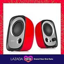Edifier R12U Active USB Powered Speakers - Red   POWERLI