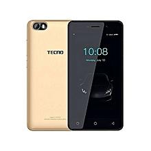 "F1 - [8GB+1GB RAM] - 5.0"" Display - 2000mAh Battery - Dual SIM+ backcover -  GOLD."