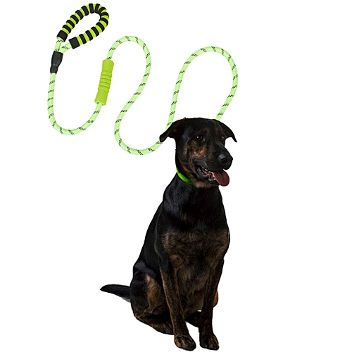 ee4e0cfb7a0a Dog Leash with 2Padded Handle Reflective Nylon Rope Leashes