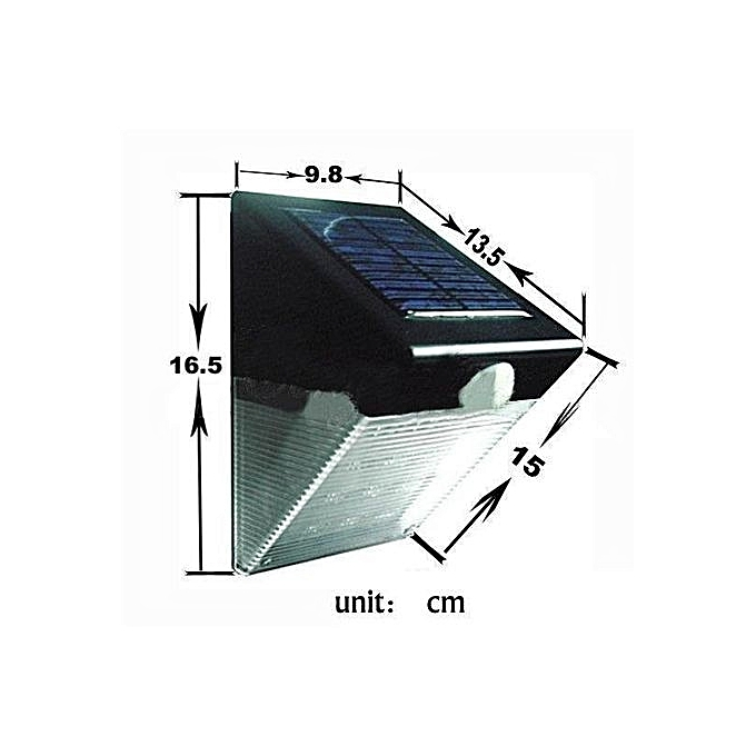 Buy UNIVERSAL 12 LED Solar Power Motion Sensor PIR Wall Light ...