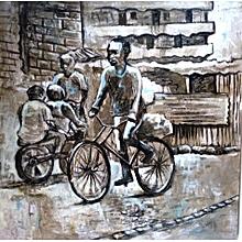 """""""Street scene series 2"""" by Andrew otieno"""