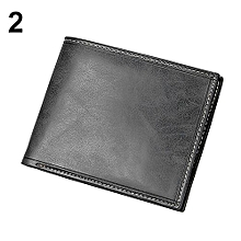 Sanwood Trendy Ultra Thin Magic Money Clip Faux Leather Card Holder Source Men .