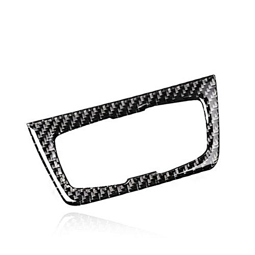 a17f2c1fcfab Generic Carbon Fiber Headlight Switch Buttons Decorative Frame Cover Trim  Dashboard Interior Molding Sticker For BMW F30 F34 Car Styling