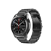 20mm Stainless Steel Modern Strap For Samsung Gear s2 Classic SM-R732 SM-R735 Silver/Black