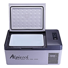 APP Conrtol 15L 12/24V Portable Fridge Freezer Camping Car Boating Caravan Bar Mini Fridges US Plug