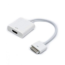 iPad Dock Connector to HDMI adapter