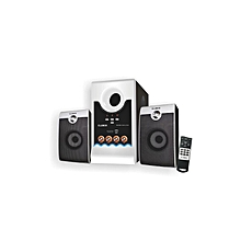 FOL-2100-2.1CH Multimedi Media Speaker - Black & White