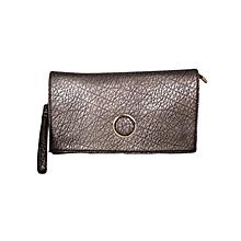 Gold Shoulder Bag/ Baguette