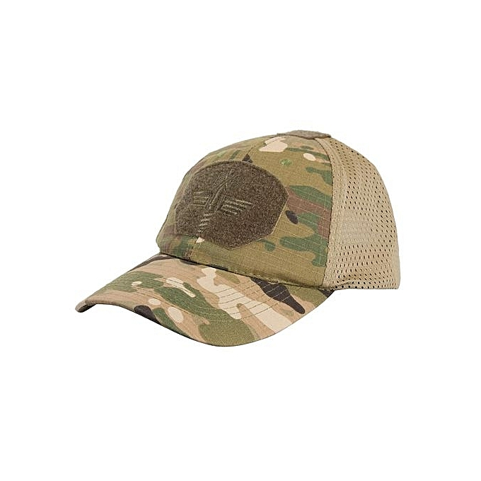 90728c2bd80e3 Multicam Camo Outdoor Tactical Cap Military Hunting Hiking Baseball Hat 4  Colors