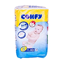 Baby diapers size 2(Mini)Economy Pack(count 40 Diaper)