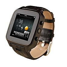 High Quality M8 Bluetooth Smart Watch 8G Android 4.2 Smart Phone Smartwatch With SIM Card 3MP Camera GPS WIFI CXF123 (Color:Black)