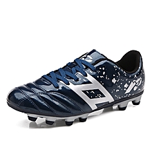Adults and Kids Men's Outdoor Sole Soccer Cleats Shoes Durable Lace Up Football Boots/Trainers Sports Sneakers on Sale