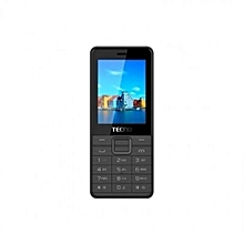 "T661-2.4"", 1200mAh,0.3MP,16mb ROM, 8MB RAM(Dual sim)-Black"