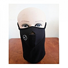 Wind, Sun & Dust Protective Half Face Mask/ Sports Wear-Cycling,Biking,Hiking- Black