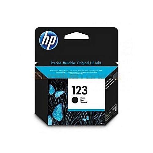123 BLACK HP CARTRIDGE