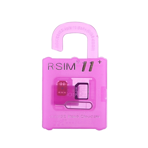 R-sim 11 Card Storage Case With Sim Card Eject Tool For Iphone 7 and 6 and  5 and 5s