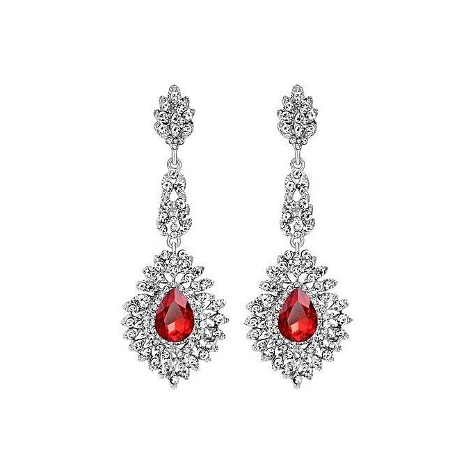 Tanson New European Hot Full Diamond Earrings Shiny Jewelry