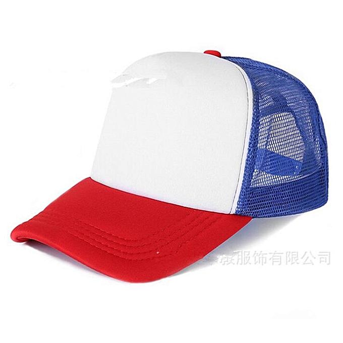 8b21187e 1 Piece Custom Logo Mesh Hats Men's Trucker Hat Adult Adjustable Polyester Baseball  Caps Women Snapback