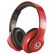 Impulse Series Bluetooth Headphones - Red