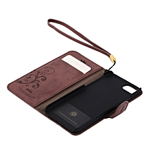 Vintage Design PU Leather Phone Protective Case Cover Suitable For iPhone