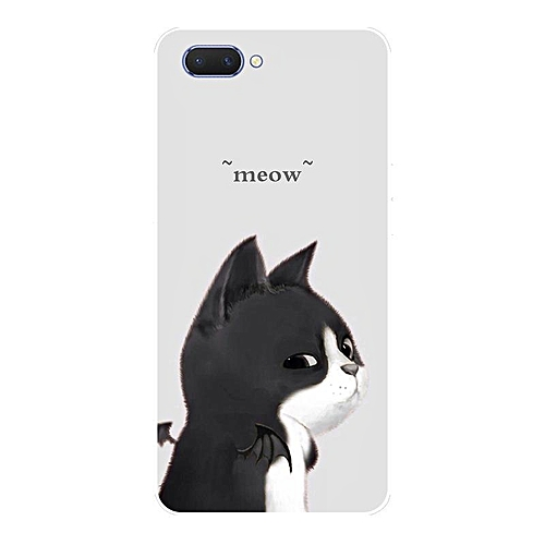 Generic For OPPO A3S Case Cartoon Printing Soft Back Cover For OPPO A3S Shockproof Casing Shell