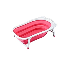 Newborn-to-Toddler Portable Folding Bath Tub / Basin - Pink