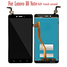 LCD Display+Touch Screen Replacement parts For Lenovo K6 Note + Repair Tools