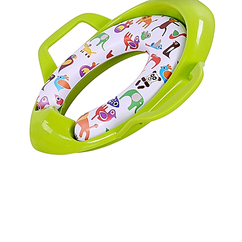 e7f993851 Generic Children Potty Training Seat Kids Baby Toddler Handle Toilet Soft  Pad Portable