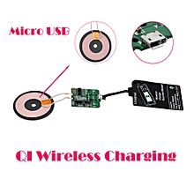 Qi Wireless Charger PCBA Circuit Board Coil +Charging Receiver Card -Black
