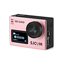 SJ6 LEGEND 4K WiFi Action Camera Dual Screen - Pink