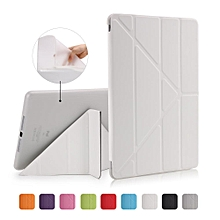 iPad Air / iPad Air 2 Case , PU leather + soft silicone Frosted Magnetic Stand Cover with Sleep / Wake Up Function for Apple iPad Air iPad 5 / iPad Air 2 iPad 6 9.7 inch CHD-Z
