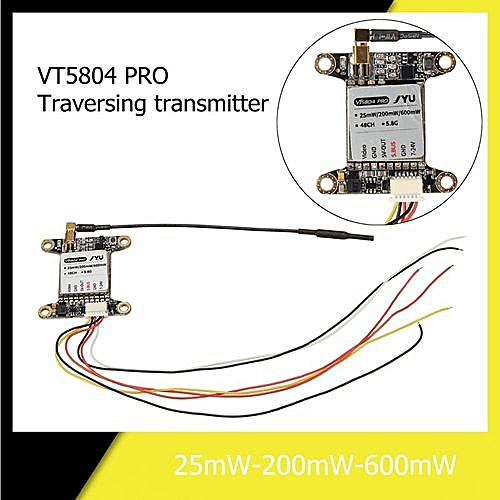 generic vt5804 pro 5 8g 48ch 25mw/200mw/600mw switchable s bus fpv image  transmitter