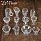 New 12Pcs/Set Doll House Cups Mini Plastic Miniatures Tableware Drink Wine Whisky Bottles Goblets Beer Plates Craft Kids Gifts
