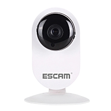 ESCAM Ant QF605 WIFI 720P P2P IP Camera Support Android IOS for Home Company WHITE UK PLUG