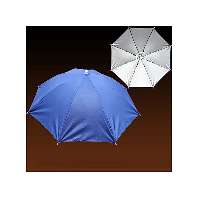 0e323612adc Foldable Novelty Umbrella Sun Hat Golf Fishing Camping Fancy Dress  Multicolor…
